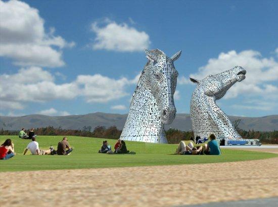 Walks With Dogs Scotland The Kelpies