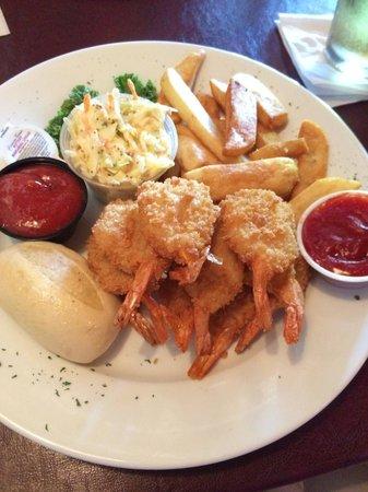 Gatsby's Saloon And Steakhouse : Shrimp dinner