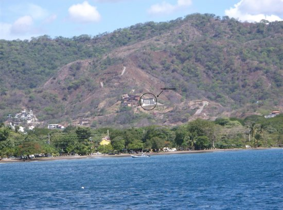 Hotel Chantel Suites: View from the Ocean