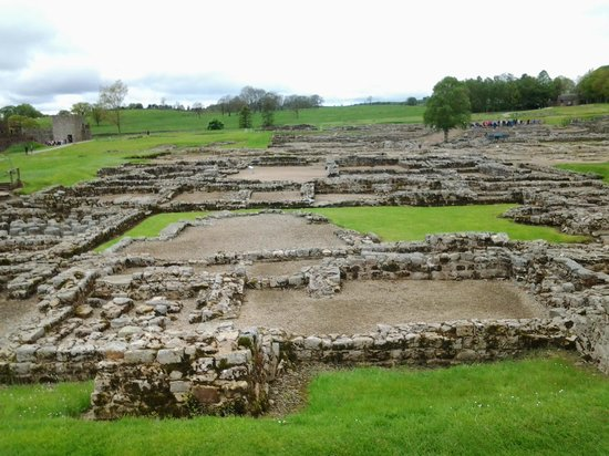 Walltown Crags - Hadrian's Wall : Vindolanda site