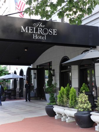 Melrose Georgetown Hotel: Intimate Hotel in Washington DC.