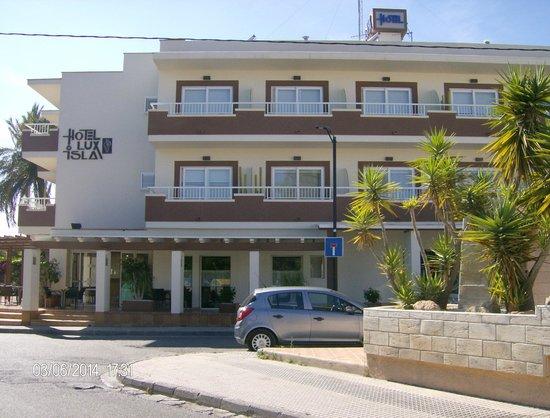 Hotel Lux Isla : vue de l'hôtel