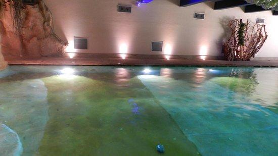 Regina Palace : piscina coperta