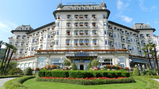 Regina Palace : vista frontale hotel