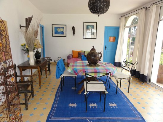 Villa Daba : Une des salles à manger