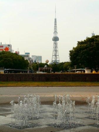 Hisaya Odori Park : TVタワーを望む