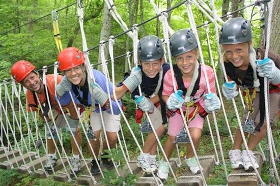 Hocking Hills Canopy Tours: Say Cheese!