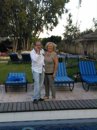 Villa Daba: Bernadette et Didier