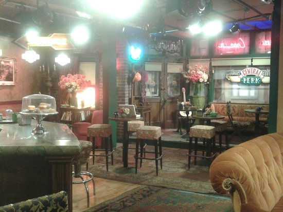 Warner Bros. Studio Tour Hollywood : Central Perk, el café de Friends