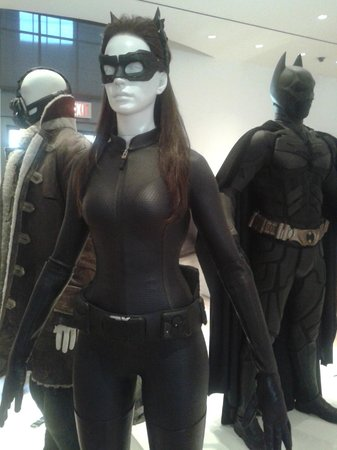 Warner Bros. Studio Tour Hollywood : Vestuario de Batman