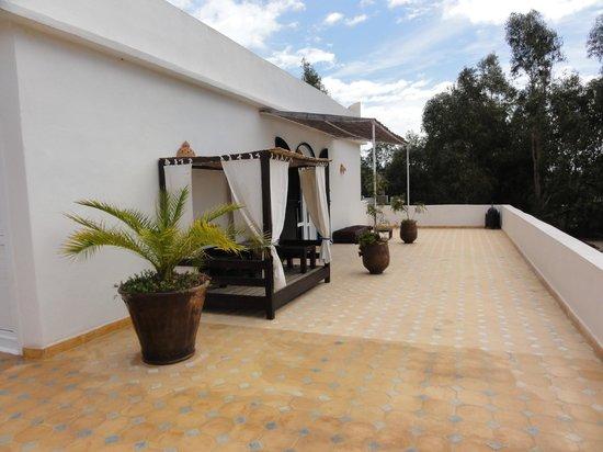 Villa Daba: Terrasse de la chambre/suite
