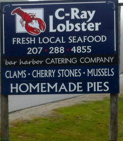 C-Ray Lobster, Bar Harbor - Menu, Prices & Restaurant ...