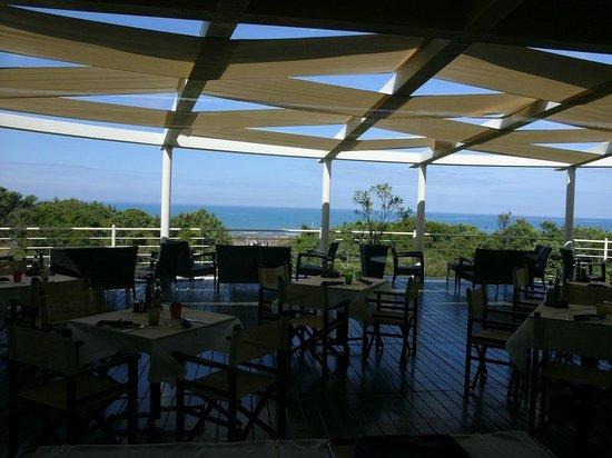 Tombolo Talasso Resort : Terrace