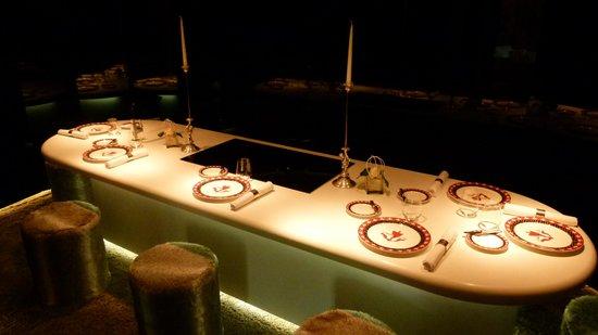 la cuisine du chef - picture of auberge de l'ile, lyon - tripadvisor