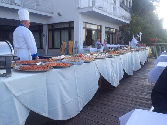 Hotel Admiral Sorrento : Gala buffet