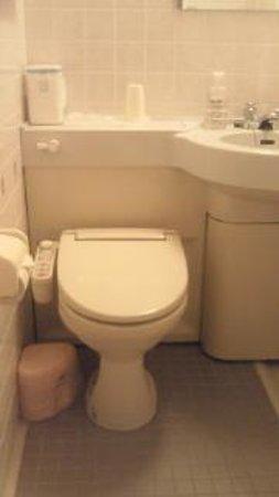 Kanayama Plaza Hotel : トイレはシャワートイレ
