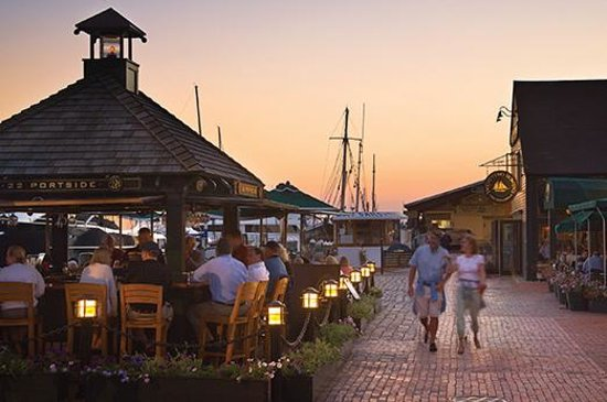 Bowen's Wharf, Newport Rhode Island by Newport Restaurant Group