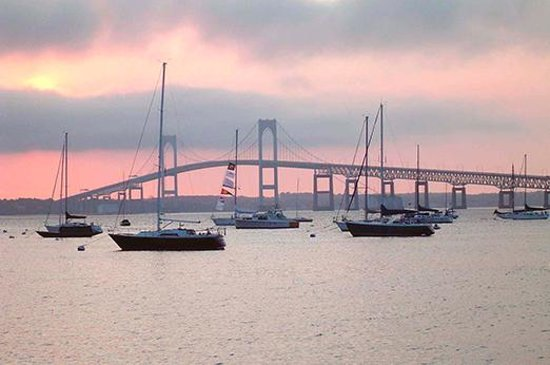 Newport Bridge, Newport, Rhode Island by Discover Newport