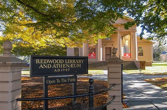 Redwood Library Newport Rhode Island By Discover Newport Picture