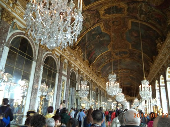 Palace of Versailles: Hall of Mirrors