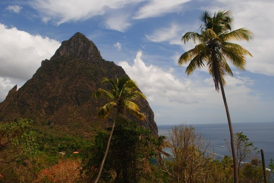 Real St. Lucia Tours : The Petit Piton