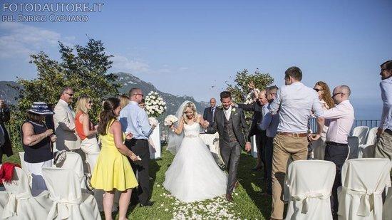 Wagner Day Tours: matrimonio a Ravello fotografo Enrico Capuano wedding planner mario capuano  Costiera Amalfitana