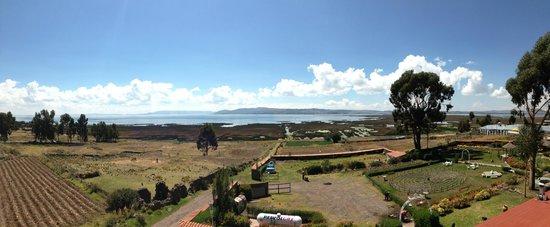 Taypikala Lago: view from terrace