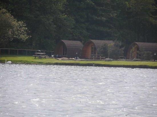 Dacre Lakeside Park: The pods
