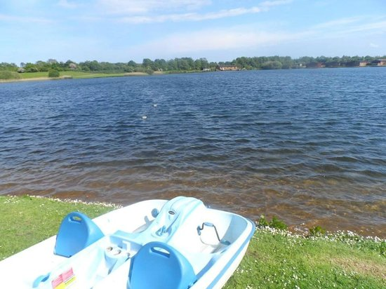 Dacre Lakeside Park: The lake which people can swim, water walk, pedelo, fish etc