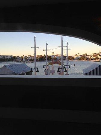 Disney's BoardWalk Villas: View from our balcony