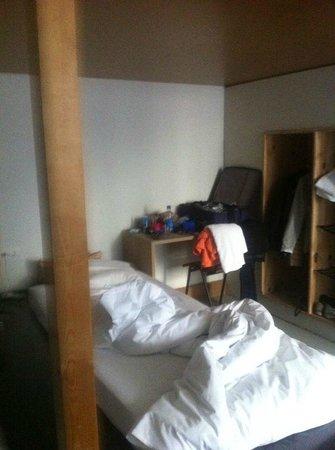 Michelberger Hotel: camera appena si entra