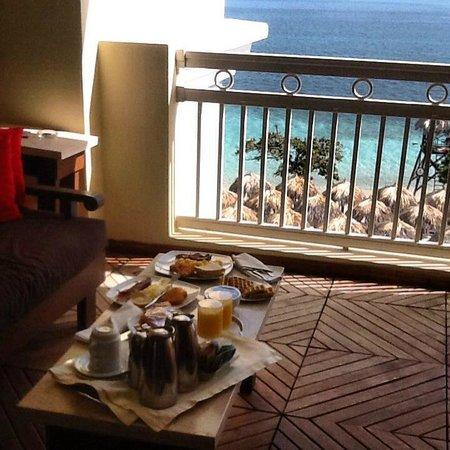 Iberostar Grand Hotel Rose Hall : Room Service Breakfast