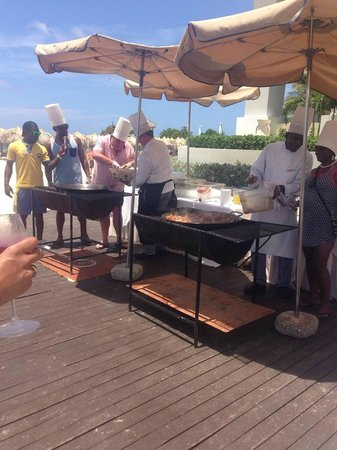 Iberostar Grand Hotel Rose Hall : Paella Cooking Lesson