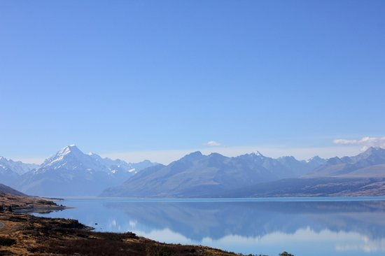 Aoraki/Mt. Cook: You wont see this unless you catch the weather