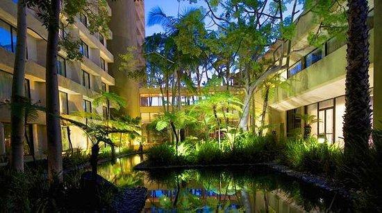 DoubleTree by Hilton Los Angeles Westside: Garden Area