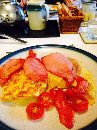 Hartnells: My first delicious breakfast