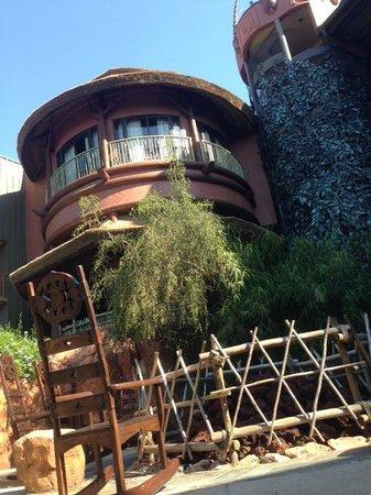Disney's Animal Kingdom Lodge: Área da Fogueira.