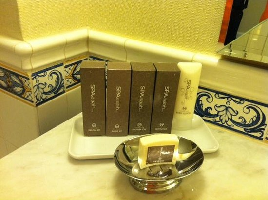 Green Valley Ranch Resort and Spa: toiletries