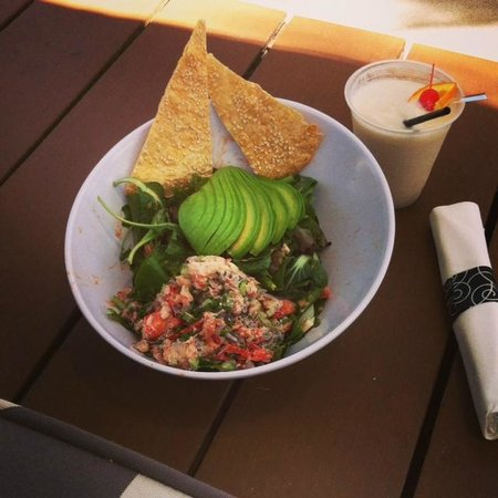 Green Valley Ranch Resort and Spa: Lobster Avocado salad from pool restaurant - yummy!!