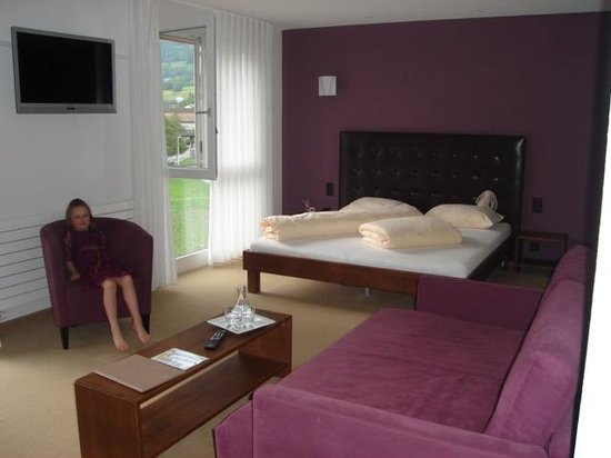 Swiss Heidi Hotel: The Purple Suite!