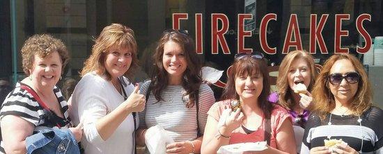 Firecakes Donuts : Girls at Firecakes!
