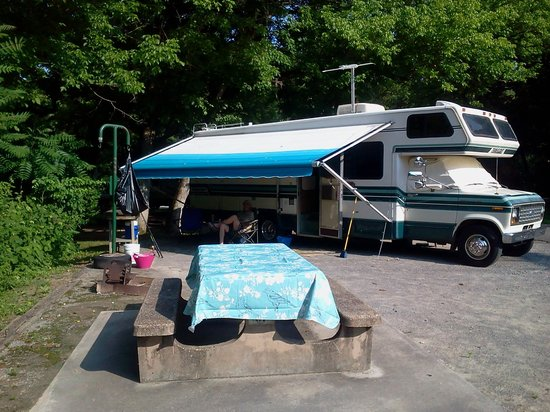 Dale Hollow Dam Campground: Site 51