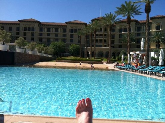"Green Valley Ranch Resort and Spa: pool and sandy ""beach"""