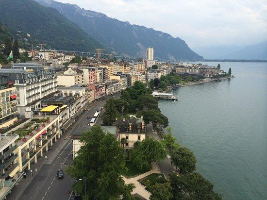 Eurotel Riviera Montreux : Aussicht Eurotel Montreux