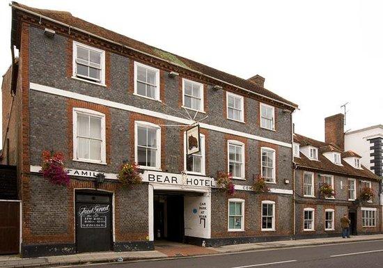 The Bear Hotel: External Long Shot