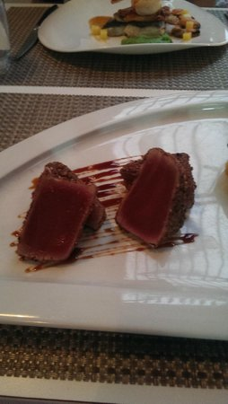 eF & Gi Restaurant: tuna was cooked just right