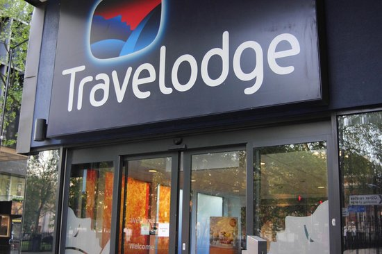 Travelodge London Central Euston: Outside of hotel