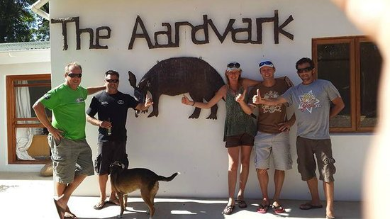 The AardVark Guesthouse and Backpackers: The must do pic when there.