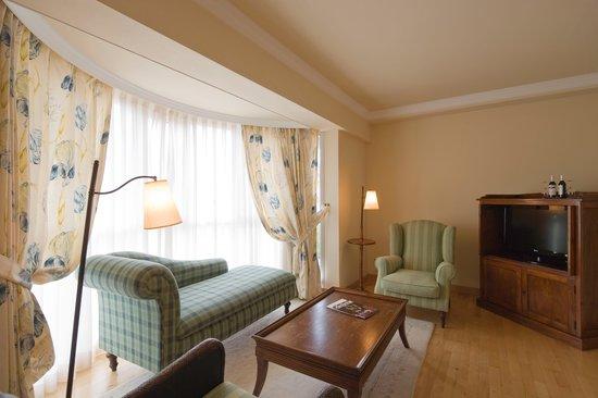 Sercotel Villa de Laguardia Hotel : Saloncito suite