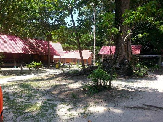 Similan Islands : Kiosk, Toiletten, usw.